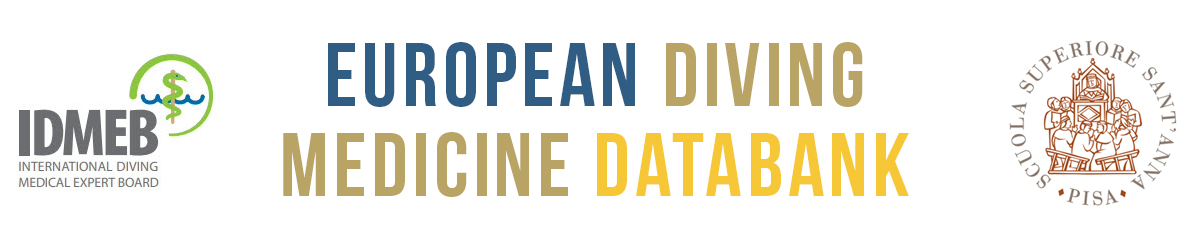 European Diving Medicine Databank